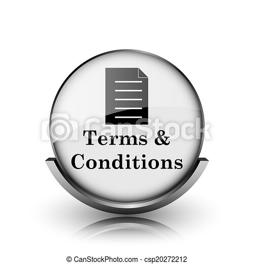 Terms and conditions icon - csp20272212