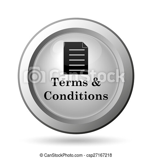Terms and conditions icon - csp27167218