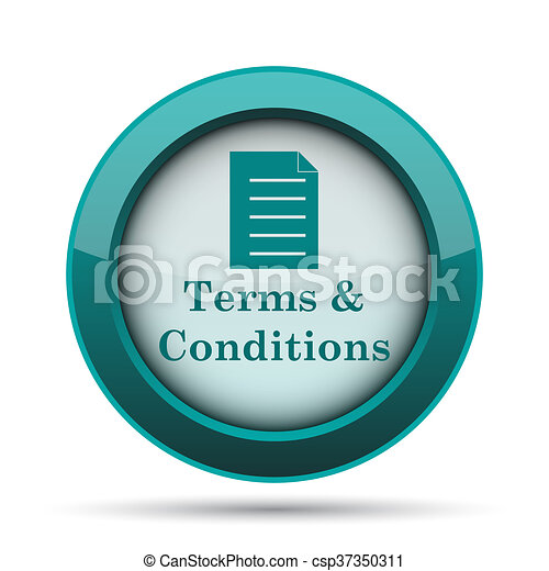 Terms and conditions icon - csp37350311