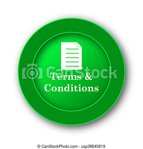 Terms and conditions icon - csp38645819