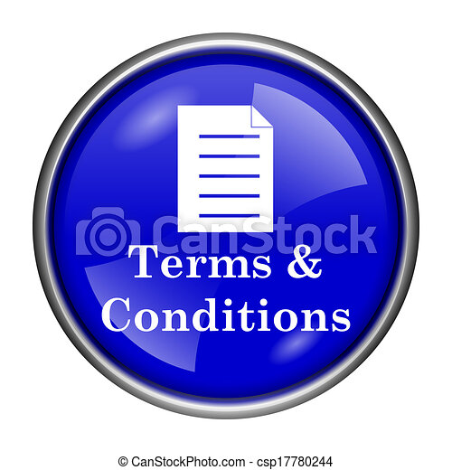 Terms and conditions icon - csp17780244