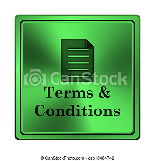 Terms and conditions icon - csp18484742