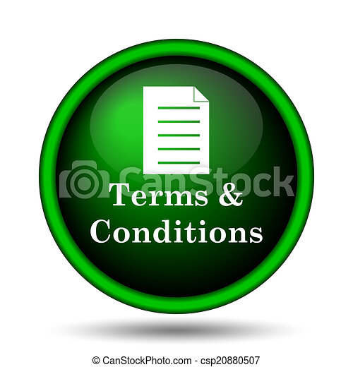 Terms and conditions icon - csp20880507