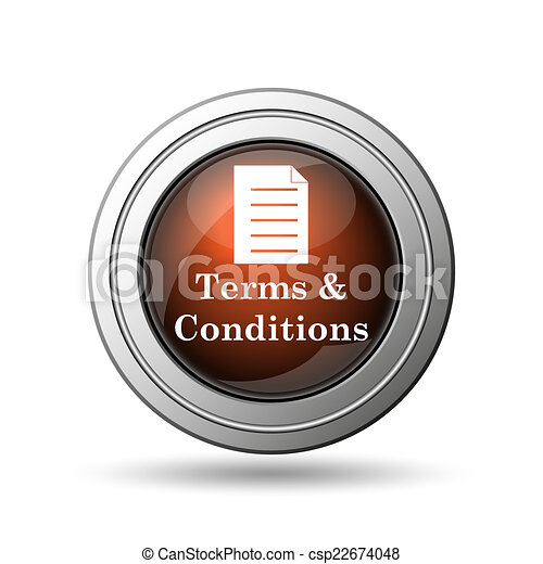 Terms and conditions icon - csp22674048