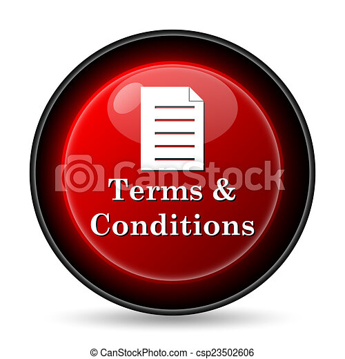 Terms and conditions icon - csp23502606