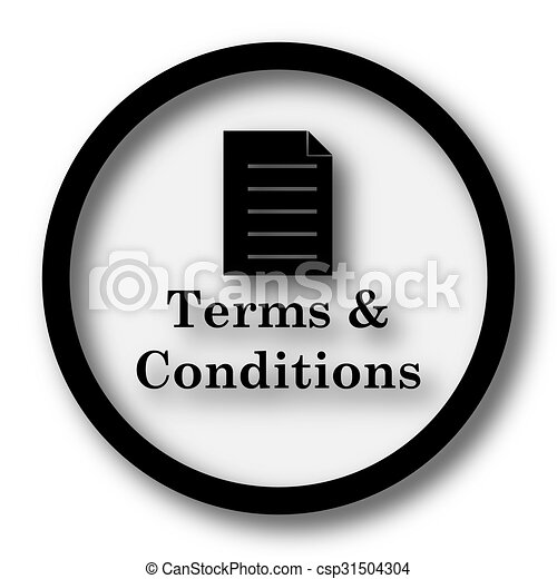 Terms and conditions icon - csp31504304