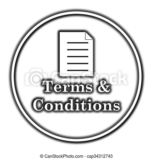 Terms and conditions icon - csp34312743