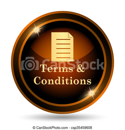 Terms and conditions icon - csp35459608
