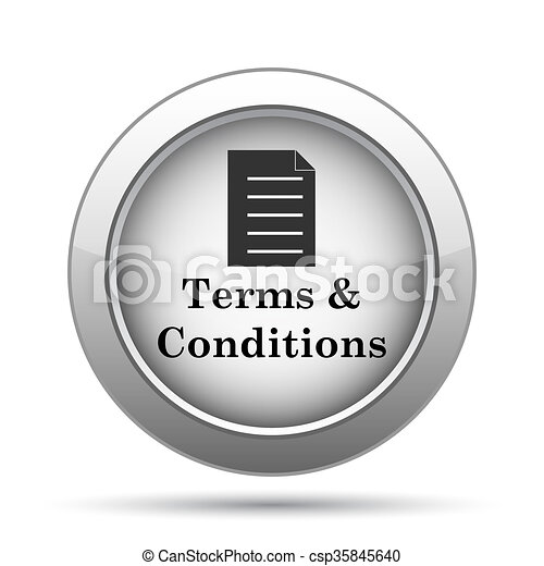 Terms and conditions icon - csp35845640