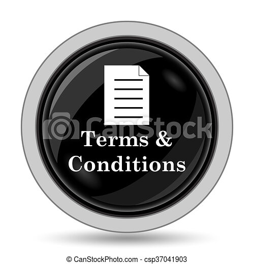 Terms and conditions icon - csp37041903
