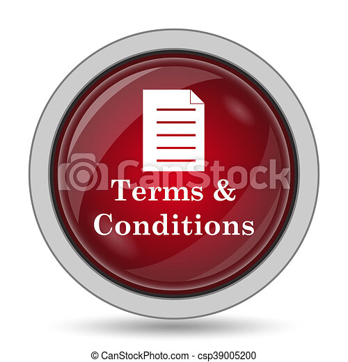 Terms and conditions icon - csp39005200