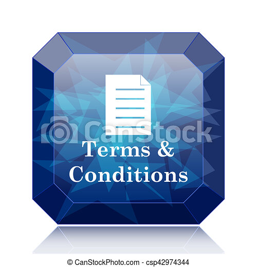 Terms and conditions icon - csp42974344