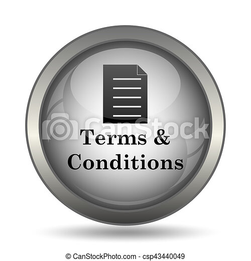Terms and conditions icon - csp43440049