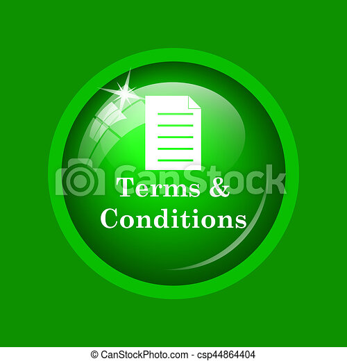 Terms and conditions icon - csp44864404