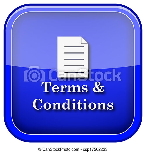 Terms and conditions icon - csp17502233