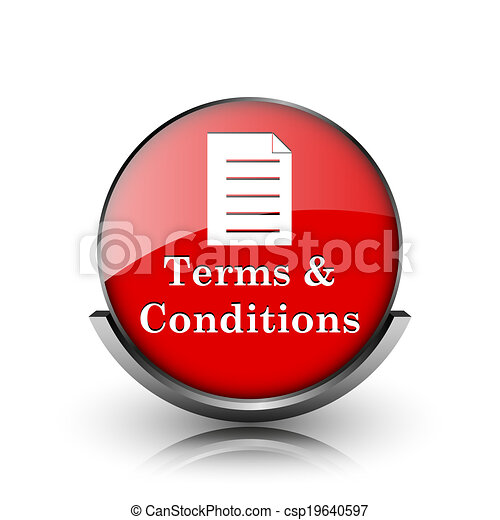 Terms and conditions icon - csp19640597