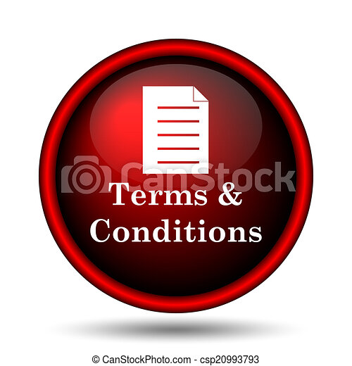 Terms and conditions icon - csp20993793