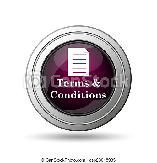 Terms and conditions icon - csp23018935