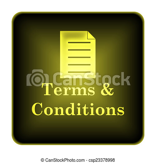 Terms and conditions icon - csp23378998