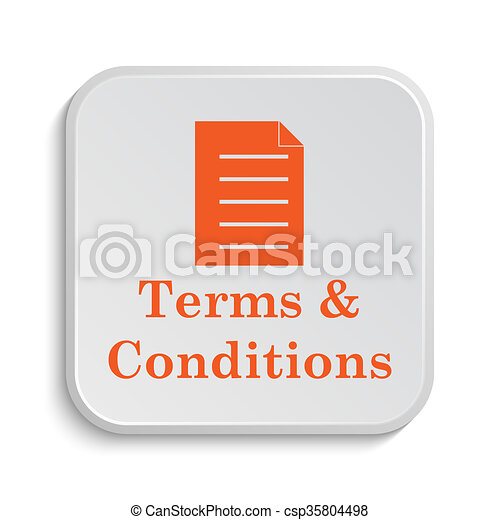 Terms and conditions icon - csp35804498