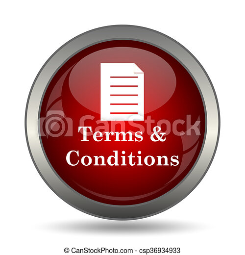 Terms and conditions icon - csp36934933