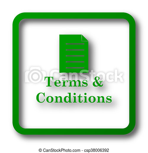 Terms and conditions icon - csp38006392