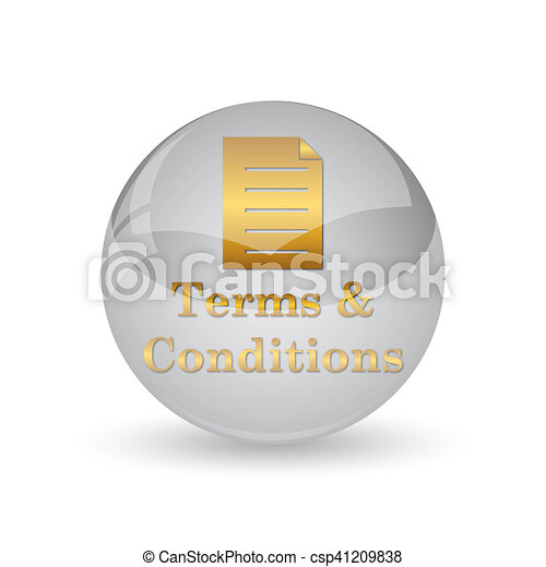 Terms and conditions icon - csp41209838