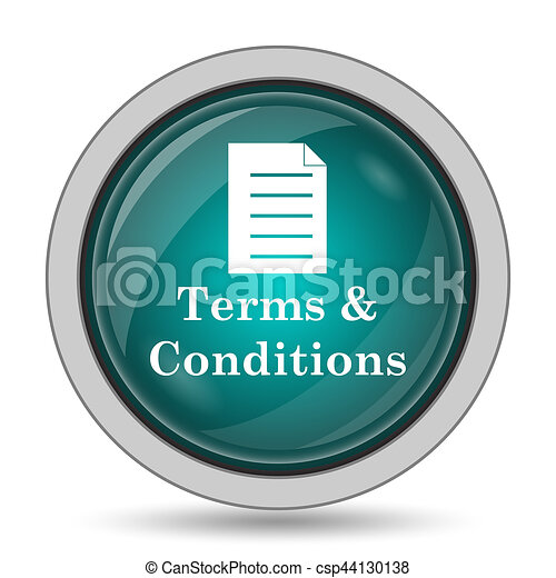 Terms and conditions icon - csp44130138
