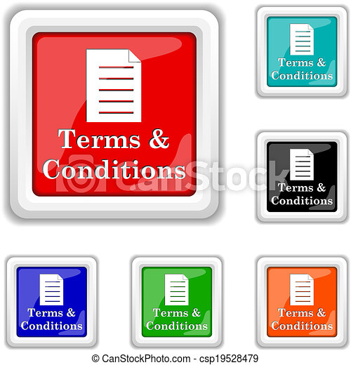 Terms and conditions icon - csp19528479
