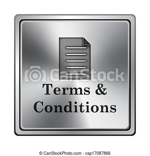 Terms and conditions icon - csp17087866