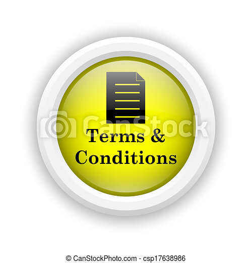 Terms and conditions icon - csp17638986