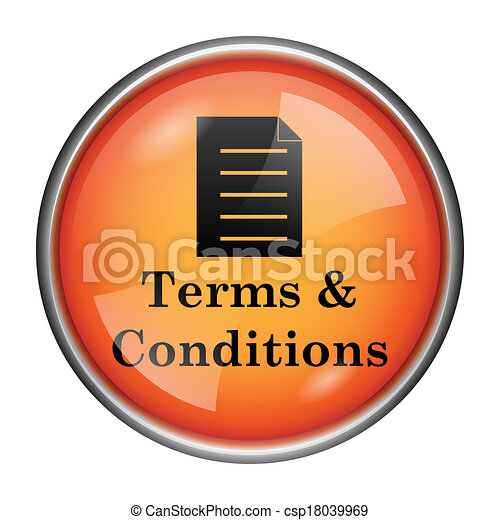 Terms and conditions icon - csp18039969