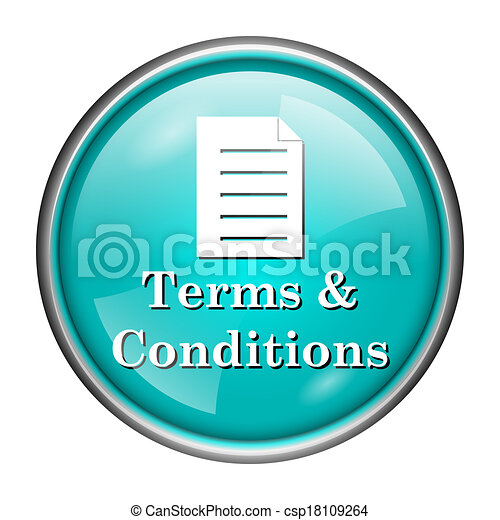 Terms and conditions icon - csp18109264