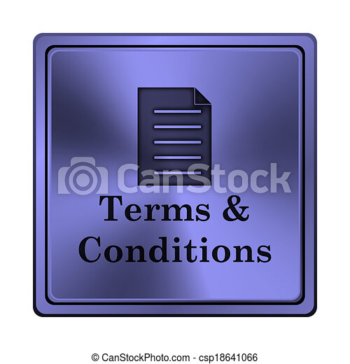 Terms and conditions icon - csp18641066
