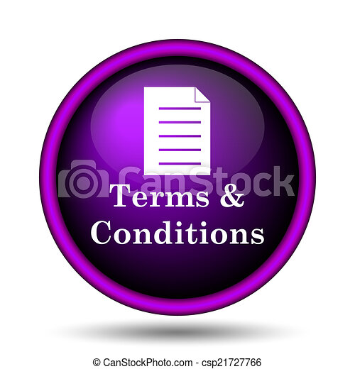 Terms and conditions icon - csp21727766