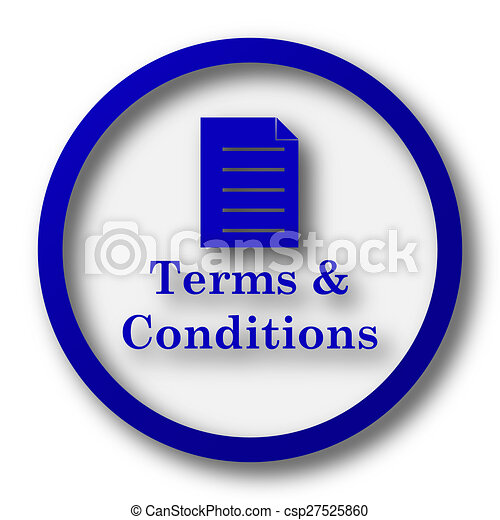 Terms and conditions icon - csp27525860