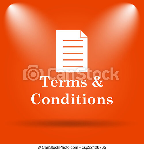 Terms and conditions icon - csp32428765