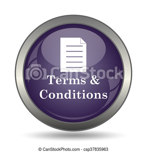 Terms and conditions icon - csp37835963