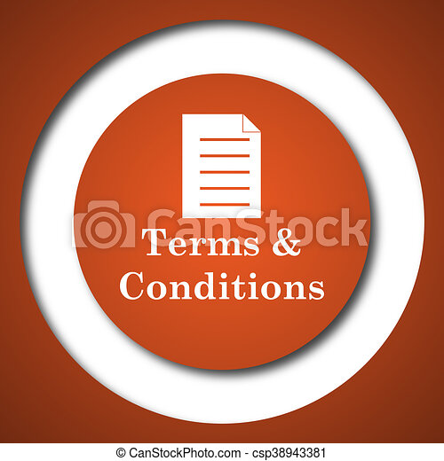 Terms and conditions icon - csp38943381