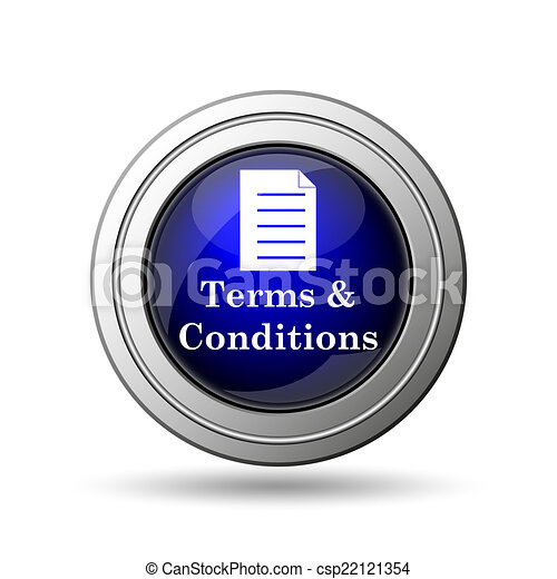 Terms and conditions icon - csp22121354