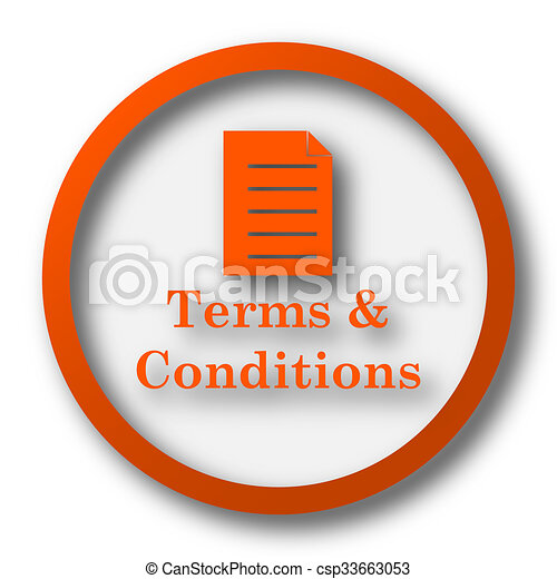 Terms and conditions icon - csp33663053