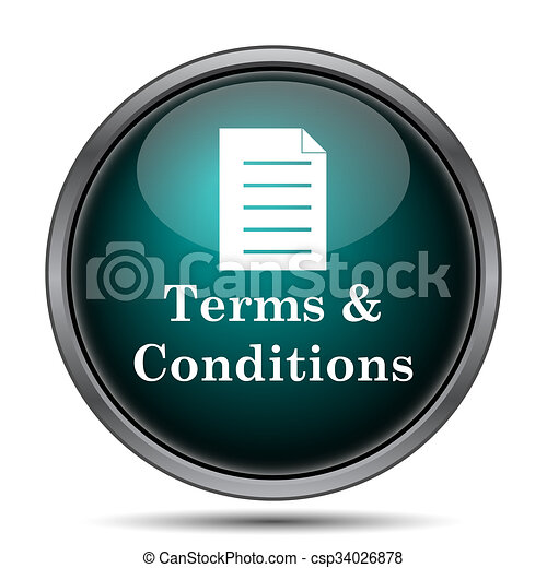 Terms and conditions icon - csp34026878