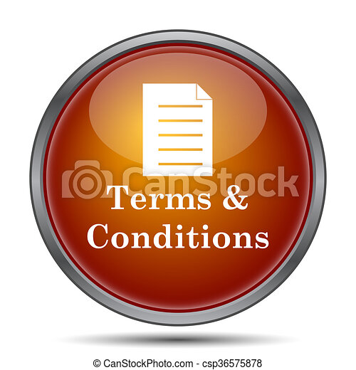 Terms and conditions icon - csp36575878