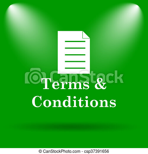 Terms and conditions icon - csp37391656