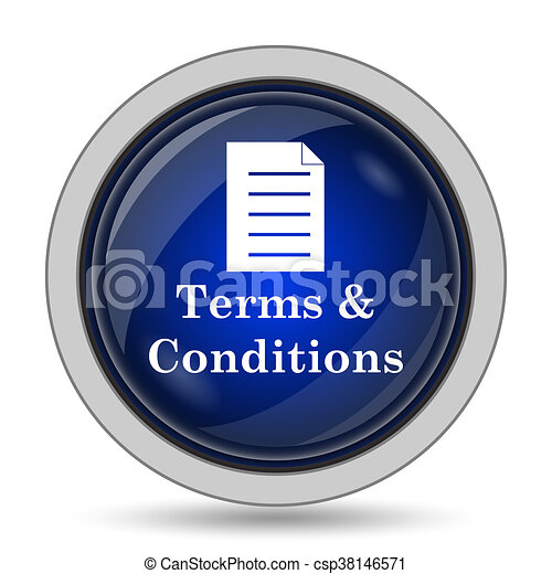 Terms and conditions icon - csp38146571