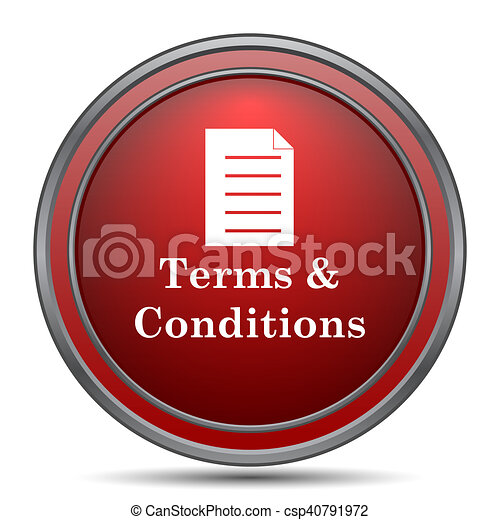 Terms and conditions icon - csp40791972