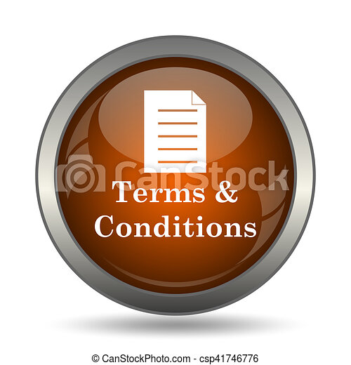 Terms and conditions icon - csp41746776