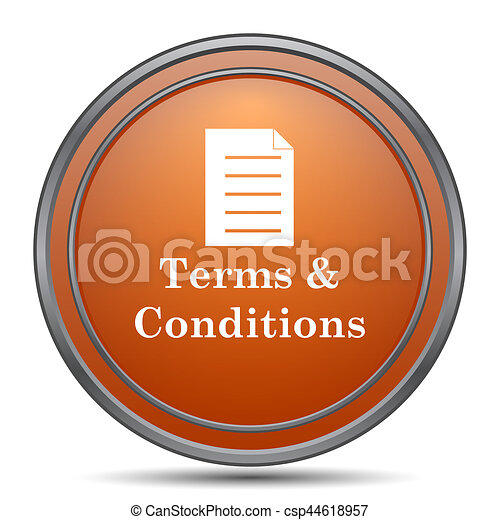 Terms and conditions icon - csp44618957