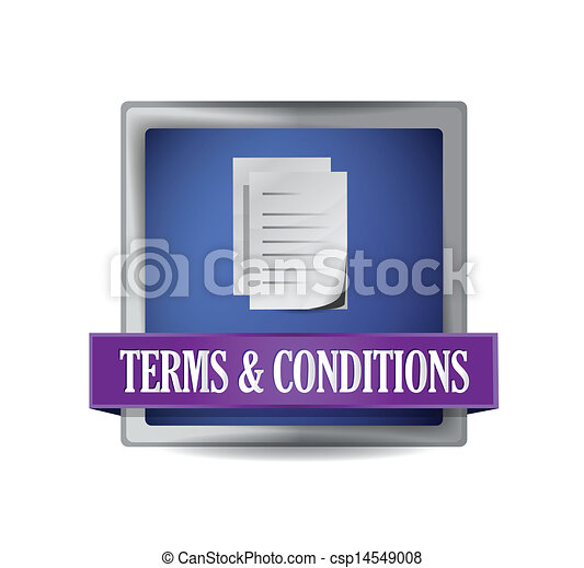 Terms and conditions illustration - csp14549008