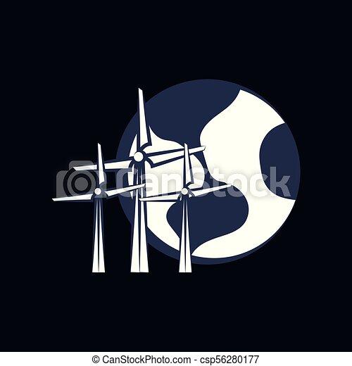 terra planeta, desenho - csp56280177